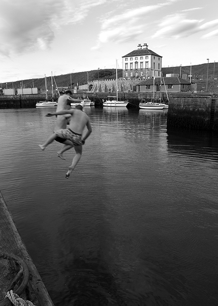 Part of the Eyemouth Project. An exhibition by Kevin O'Brien