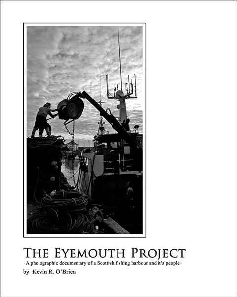 Eymouth harbour book cover