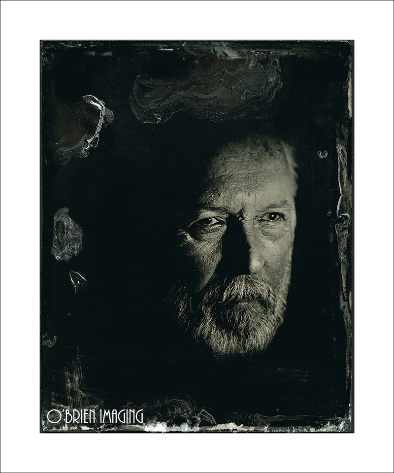 Wet Plate Collodion Portrait Image