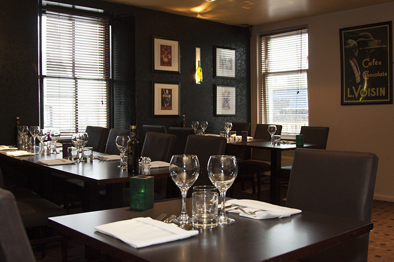 Interiors - Oblo Restaurant - Eyemouth Berwickshire